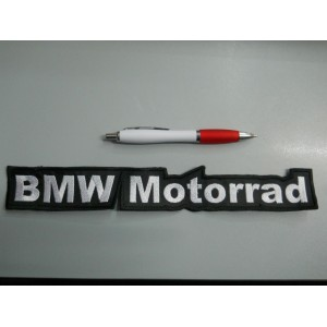 PATCH TOPPA BMW MOTORRAD emblem embroidery RICAMATO TERMOADESIVO cm 29 x 5