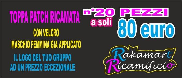 Offerta Pack Patch ricamate